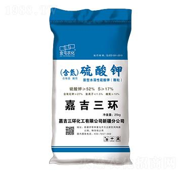 新型水溶性硫酸鉀-金屯農化-金大地