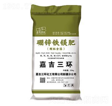 硼鋅鐵鎂肥(顆粒全溶)-金屯農化-金大地