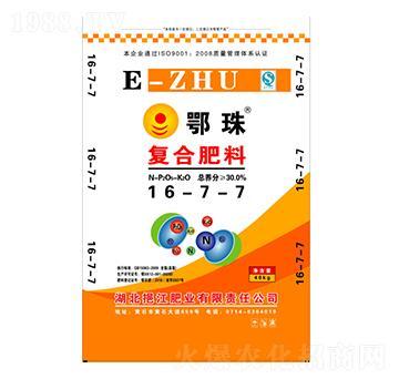 复合肥料16-7-7-鄂珠-挹江肥业