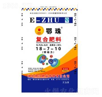 复合肥料18-7-10-鄂珠-挹江肥业