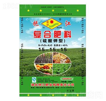 硫酸钾型复合肥料15-15-15-挹江肥业