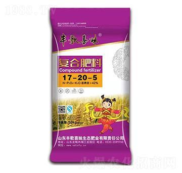 50kg复合肥料17-20-5-丰歌喜妹