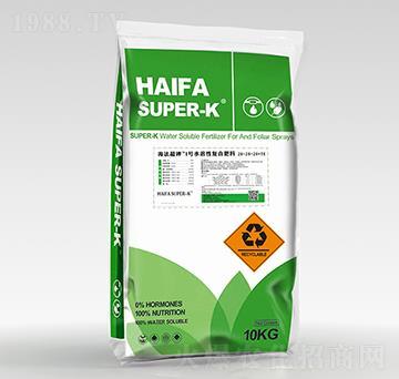 水溶性復合肥料20-20-20+TE-海法超鉀1號-中科三農