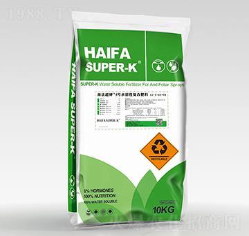 水溶性復合肥料12-5-43+TE-海法超鉀5號-中科三農