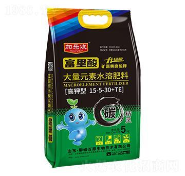 高鉀型大量元素水溶肥料15-5-30+TE-加樂收-百利來