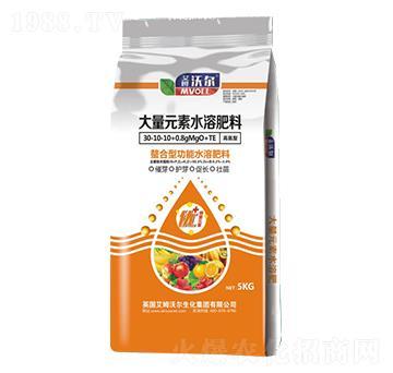 高氮型螯合功能大量元素水溶肥料30-10-10+0.8MgO+TE-艾姆沃尔