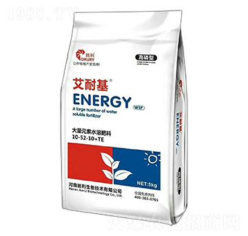 高磷型大量元素水溶肥料10-52-10+TE-艾耐基-爵利生物