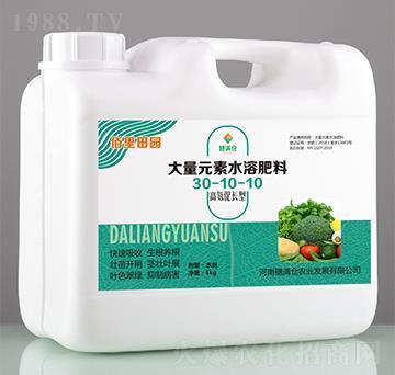 5kg高氮促长型大量元素水溶肥料30-10-10-佰里田园-穗满仓