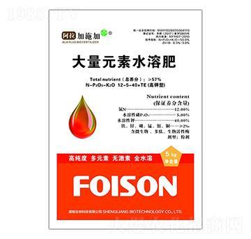 高钾型大量元素水溶肥料12-5-40+TE-阿拉加施加-盛粮生物