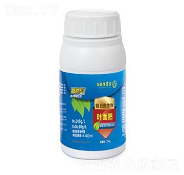 高氮型复合微生物叶面肥-森度