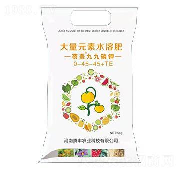 大量元素水溶肥料0-45-45+TE-蓓美九九磷�-�v�S�r�I