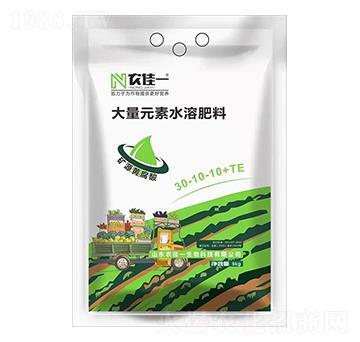 高氮型大量元素水溶肥30-10-10+TE-农佳一