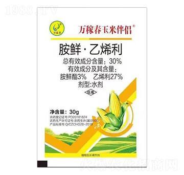 30%胺鲜·乙烯利 万稼春玉米伴侣