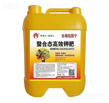 螯合态高效钾肥-生根抗腐宁-粮人生物