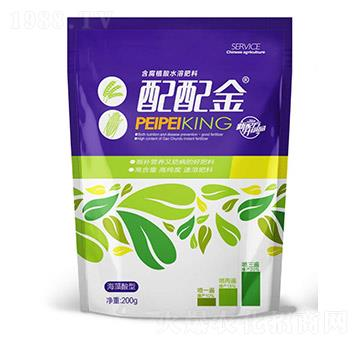 含腐植酸水溶肥料-配配金-晶湛生态