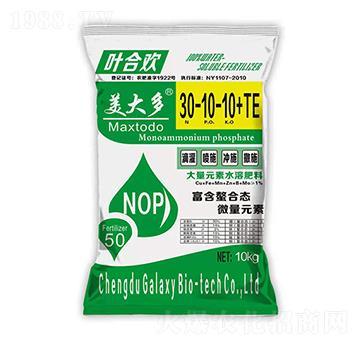 大量元素水溶肥料30-10-10+TE 姜大多 盖尔盖司