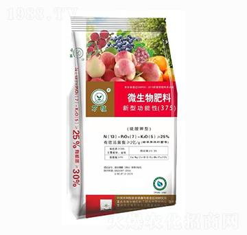 新型功能性微生物肥料3-7-5 万植