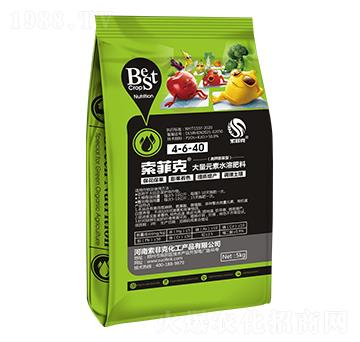 高钾膨果型大量元素水溶肥料4-6-40 索菲克