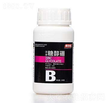 240克微量元素水溶肥料 流体糖醇硼 摩地师