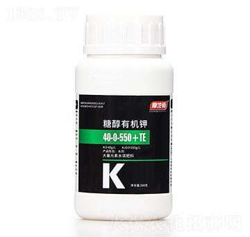 260克糖醇有机钾10-0-550+TE 摩地师
