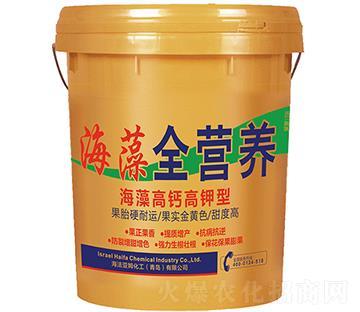 海藻高钙高钾型 全营养桶肥
