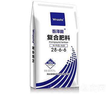复合肥料28-6-6 吾泽田