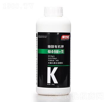 糖醇有机钾10-0-550+TE 摩地师