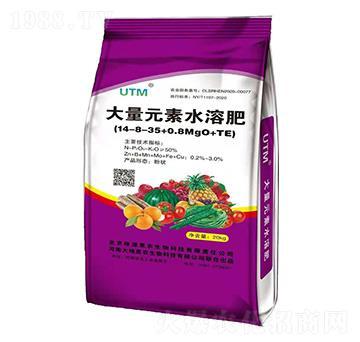 大量元素水溶肥料14-8-35+0.8MgO+TE-大地惠农