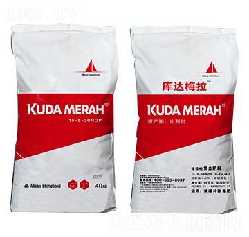进口速溶性复合肥料15-5-20NOP 库达梅拉