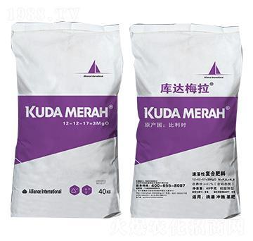 进口速溶性复合肥料12-12-17+3MgO 库达梅拉