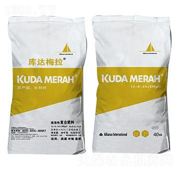 进口速溶性复合肥料12-6-24+3MgO 库达梅拉