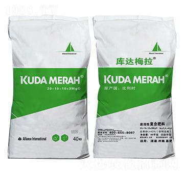 进口速溶性复合肥料20-10-10+3MgO KUDAMERAH库达梅拉