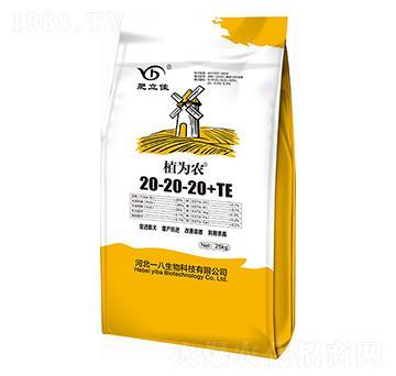 含壳寡糖型水溶肥20-20-20+TE 植为农 肥立佳 一八生物