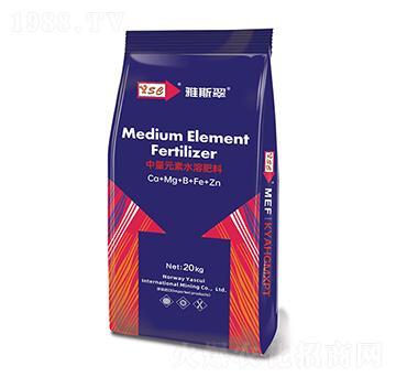 中量元素水溶肥料-钙镁硼铁锌-雅斯翠