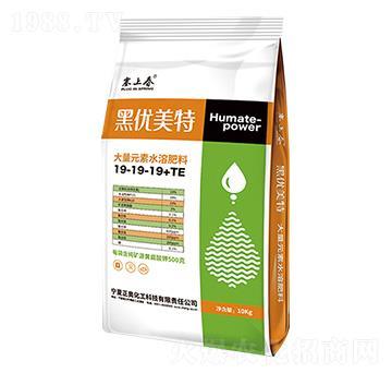 大量元素水溶肥料19-19-19+TE 黑优美特 正奥化工