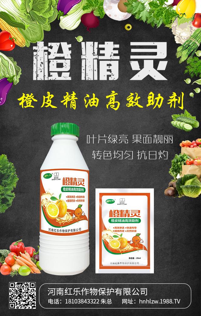 橙皮精油高效助剂-橙精灵-红乐