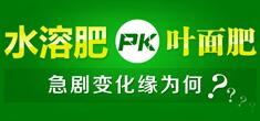 水溶肥PK叶面肥急剧变化缘为何?