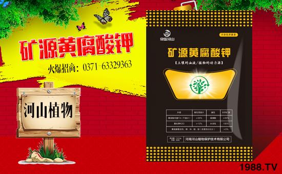 黄腐酸钾与矿源黄腐酸钾区别!为什么都这么畅销?好处与作用有哪些?