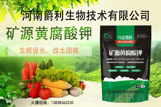 矿源黄腐酸钾与生化黄腐酸钾有何不同?农作物使用矿源黄腐酸钾的好处有哪些?
